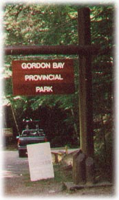 Gordon Bay Provincial Park