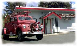Mesachie Lake Fire Truck